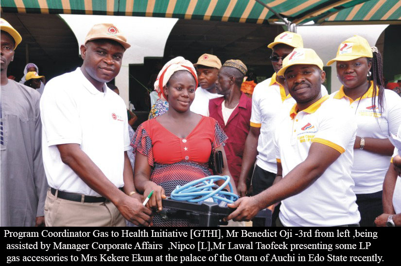 NIPCO Donates Cylinders To Boost LP Gas Usage