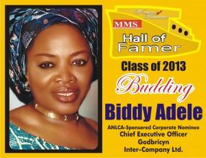 BIDDY ADELE