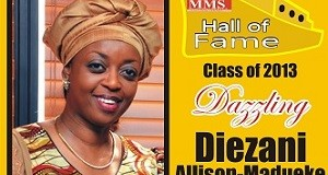 HALL OF FAME 2013 DAZZLING Diezani Allison-Madueke, Minister of Petroleum & Resources