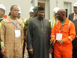 Jonathan Commissions N90bn Uquo Gas Processing Facility