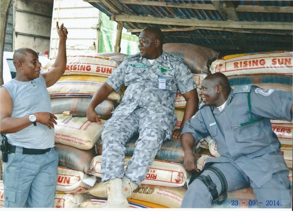FOU Customs Ikeja Intercepts Rice  Worth Over N56million