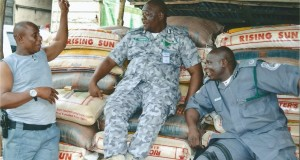 FOU Zone 'A' Customs Seizes 11, 264 Bags Of Rice