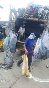SPE waste management truck