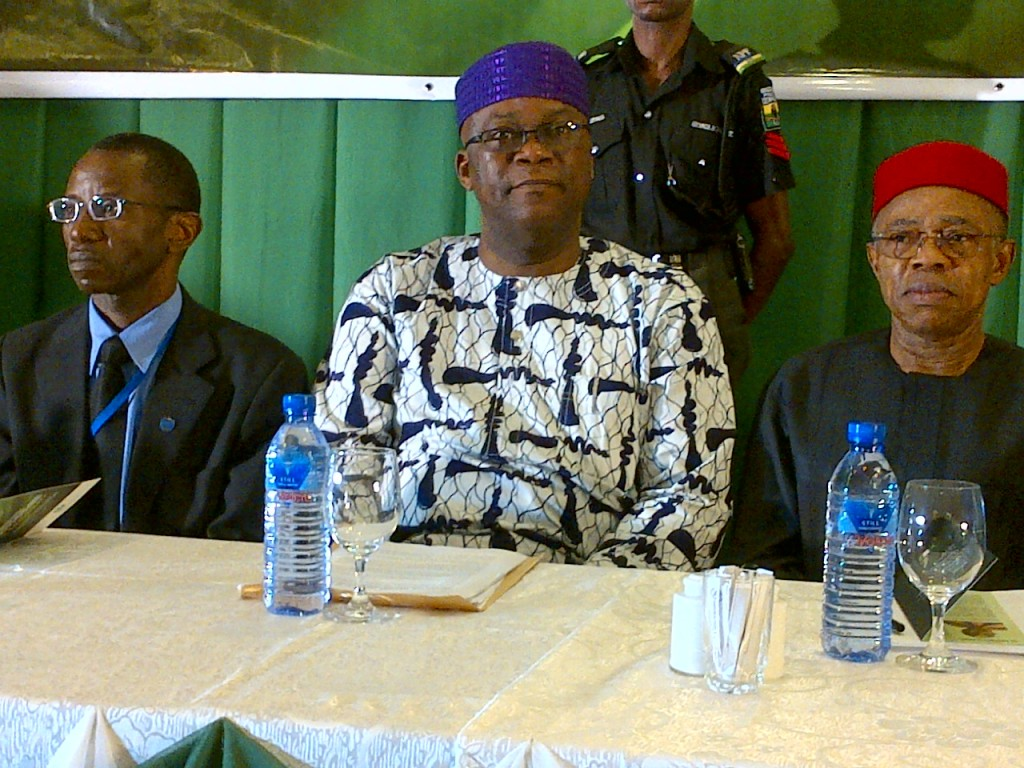 a Press Conference Organised by SON in Lagos