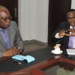 Shippers' Council On A Working Visit To SON