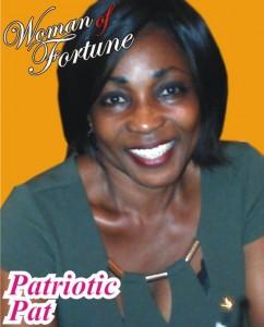 Patriotic Pat  is mms plus weekly's woman of fortune for this week