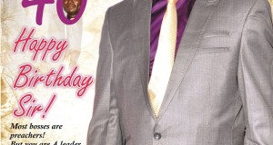 Mr. Kingsley Anaroke marks 40th birthday on Wednesday 12, 2014