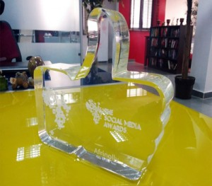 Techno West Blue Wins  Social Media Award Africa