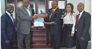 MANAGING DIRECTOR OF SAHCOL BAGS AFRICAN GLOBAL AVIATION ENTERPRISE ACHIEVER'S AWARD