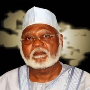 Abdul-Salam Abubakar Chairs NIMAREX 2015
