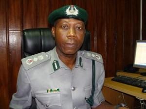 Acting Comptroller-General of Customs Dr. John Atte