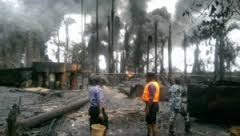 Navy smashes 78 Illegal Refineries As Oil Thieves Retreats