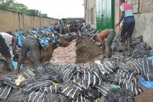 Customs Seize, Destroy Frozen Products Worth N37.8M