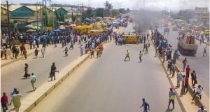 Naval Rating Escapes Mob Justice In Kirikiri Town