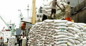 Customs, Navy seize two boats of smuggled rice