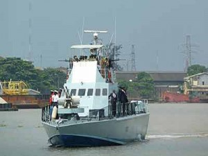 Navy Destroys 50 Illegal Refining Camps in Delta