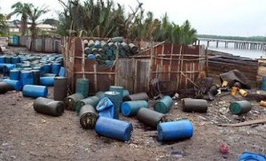 Navy Impounds Two Ships In Rivers For Illegal Bunkering