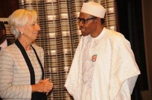 IMF's Boss Lauds Buhari's Fight Against Graft, Urges Fiscal Discipline
