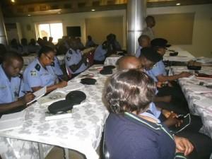 Port Police Officers Undergo Emotional Training