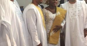Catherine weds LeNard