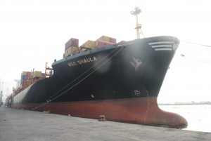 Ports & Cargo Terminal Receives Largest Vessel In Nigeria