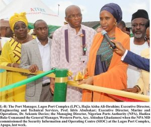 NPA MD Commissions Safety, Security Information, Operation Centre At Apapa