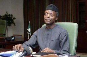 Zero oil revenue days fast approaching, says Osinbajo