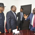 NIGERIAN SHIPPERS' COUNCIL VISIT'S HIS EXCELLENCY, GODWIN OBASEKI