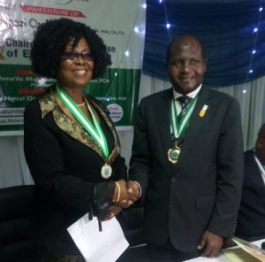 ICAN Inaugurates Osakwe-Ogo As 23rd Chairman