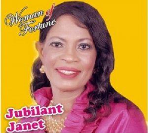 Jubilant Janet