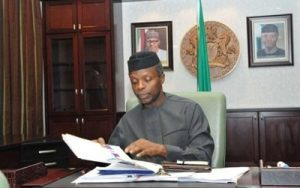 We've reached out to US on stolen funds' repatriation – Osinbajo