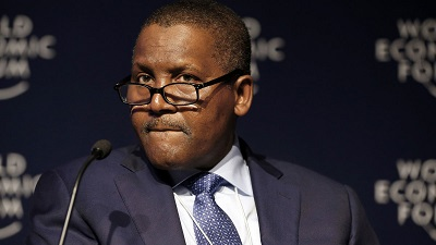 Dangote  Plans $50bn Renewables And Petrochemicals Investment Across U.S., Europe