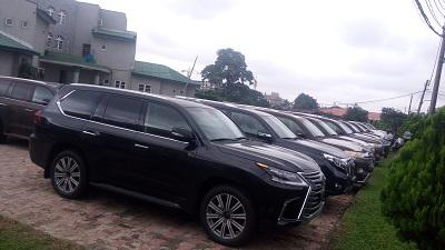 Customs FOU Ikeja Impounds 1.3 Billion Smuggled Vehicles