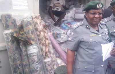 KLT Customs Intercepts Consignment Concealed Of Military Materials.