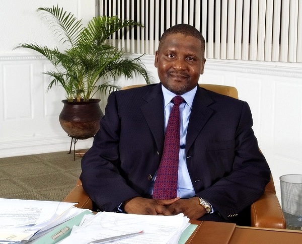 Low oil price will help Nigeria, others – Dangote