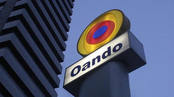 Johannesburg Stock Exchange suspends trading on Oando shares
