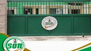 SON conducts quality inspection on face mask factory