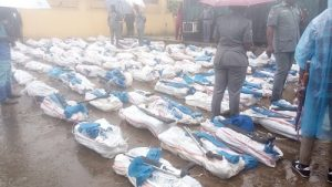 Again! Customs Seize 1100 Smuggled Rifles At Tin Can