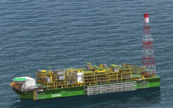 'Egina project'll boost oil production by 200,000bpd'