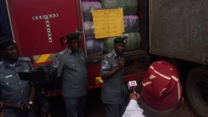Ikeja FOU Customs Seizes N1.3 Billion Contrabands, Arrests 6 Suspects