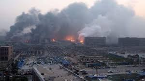 Explosion! Two Die In ChinesePortDisaster