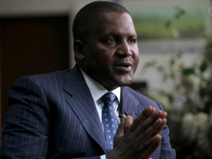 Dangote Emerges Only African on Bloomberg's List of 50 Most Influential People