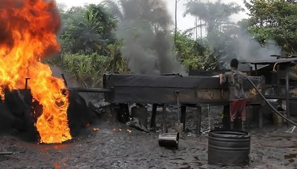 Perils Of Illegal Oil Refining