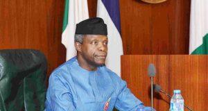 Osinbajo: No Journalist Can Make Ends Meet in Nigeria