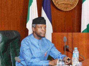 Osinbajo advises states against raising IGR at all costs