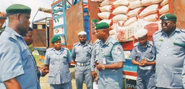Customs Impounds 64 Vehicles, Smuggled Rice Worth N1.6bn