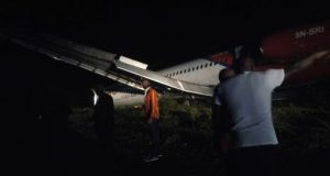 Dana Aircraft Overshoots Runway, Runs into Bush at Port Harcourt Airport