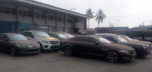 Ikeja Customs Impounds Assorted Vehicles, Others Worth 1.6Billion