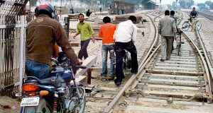 Curbing Accidents On Railway Tracks