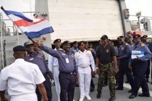 Germany Donates Five Gun boats to Nigerian Navy for Lake Chad Operations